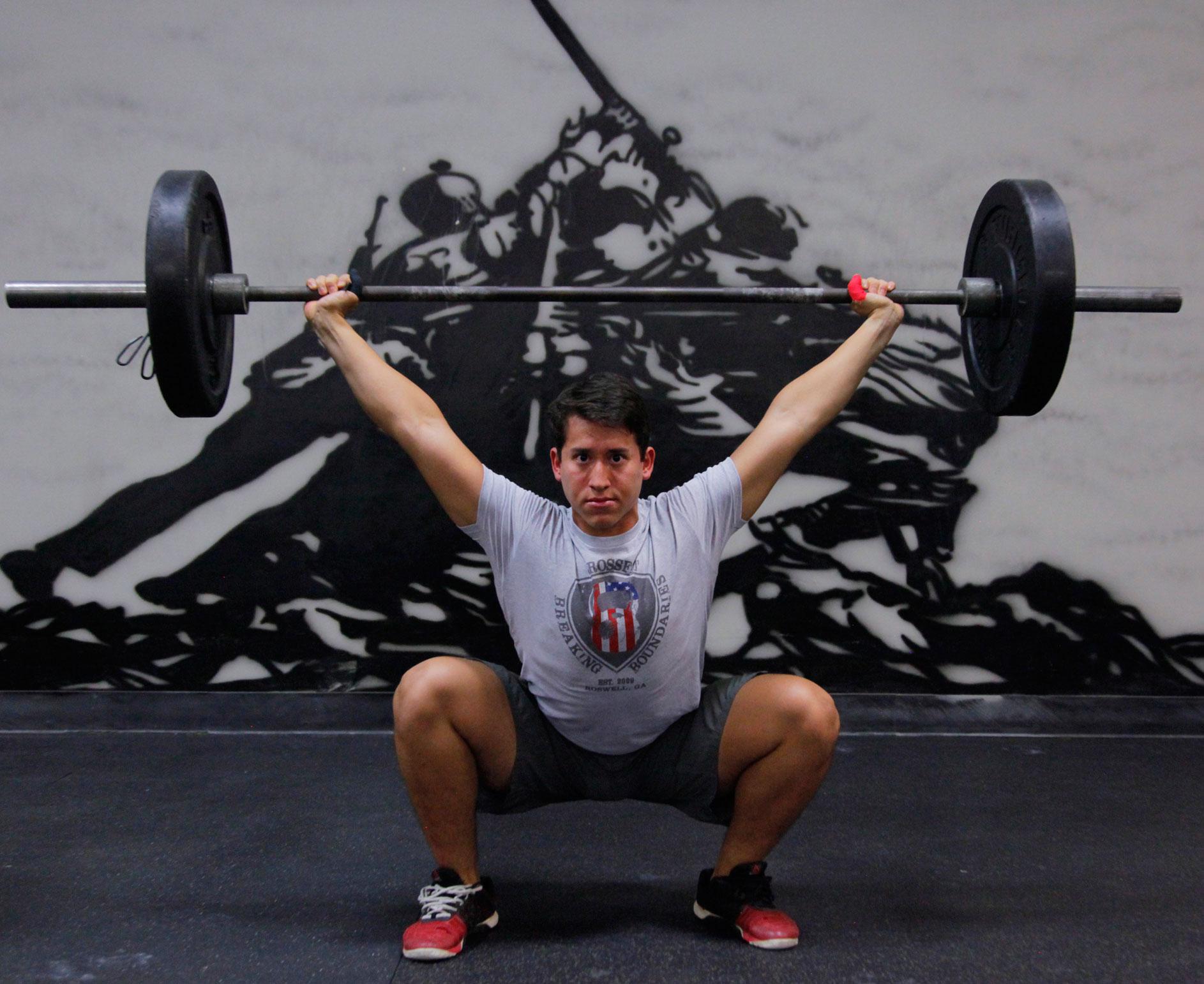 CrossFit Breaking Boundaries Coach Luis