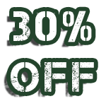 30% off for active military, police, fire and first responders
