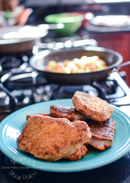 CrossFit Breaking Boundaries Mama's Urban Paleo Pork Chops-52