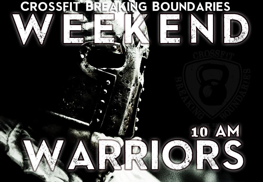 Weekend Warriors 2-8