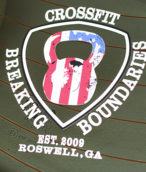 CrossFit Breaking Boundaries Roswell Car Sticker Decal