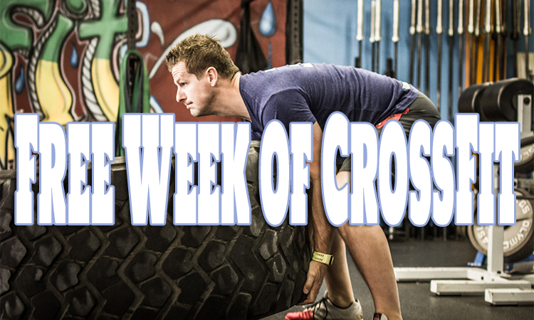 Sharing the Love for CrossFit! Free Week + 40% OFF Your First Month!