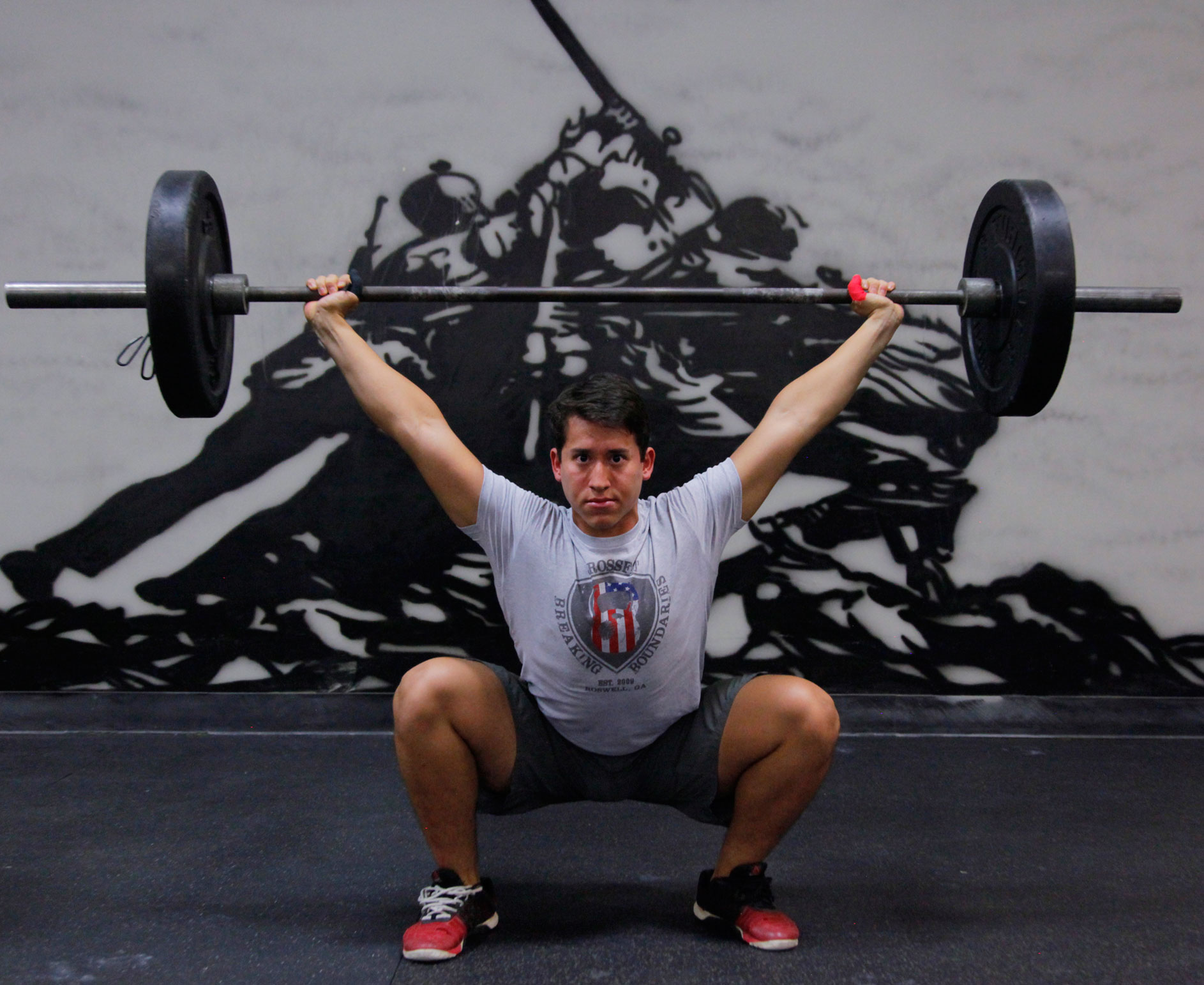 CrossFit Breaking Boundaries Coach Luis