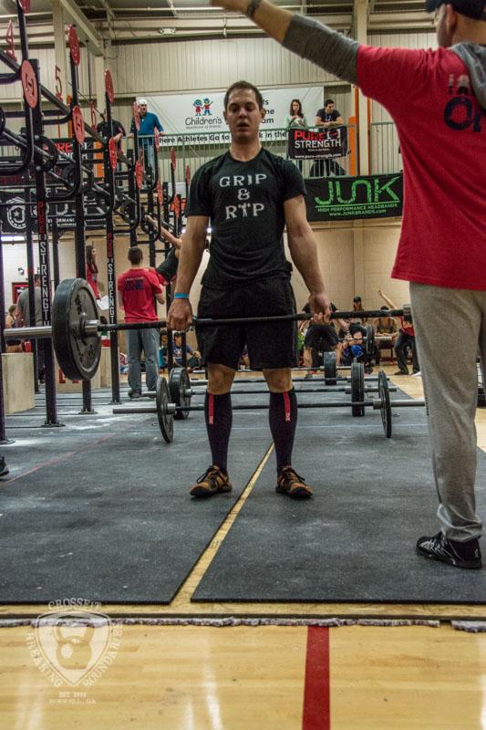 CrossFit Breaking Boundaries Garage Games One 2-16-14-147