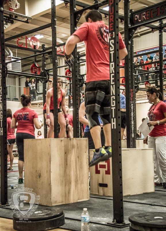 CrossFit Breaking Boundaries Garage Games One 2-16-14-156