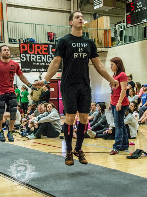 CrossFit Breaking Boundaries Garage Games One 2-16-14-39
