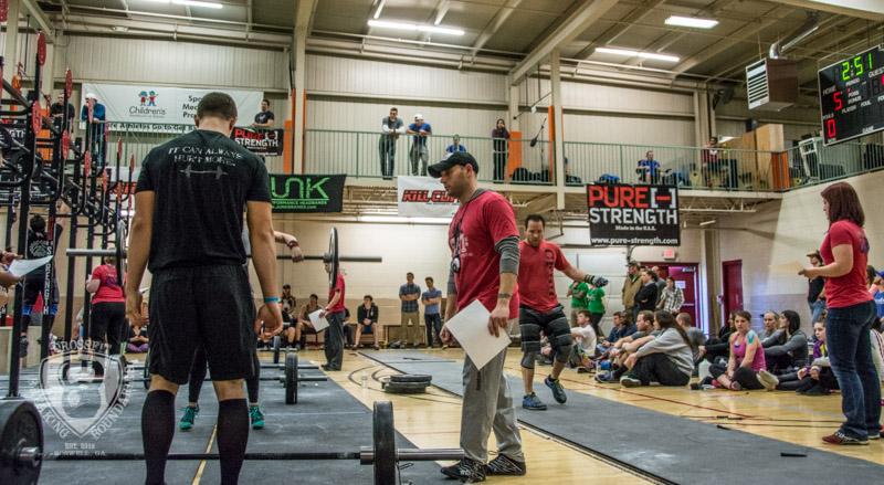 CrossFit Breaking Boundaries Garage Games One 2-16-14-74