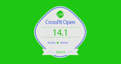CrossFit Open 14.1 in the Books