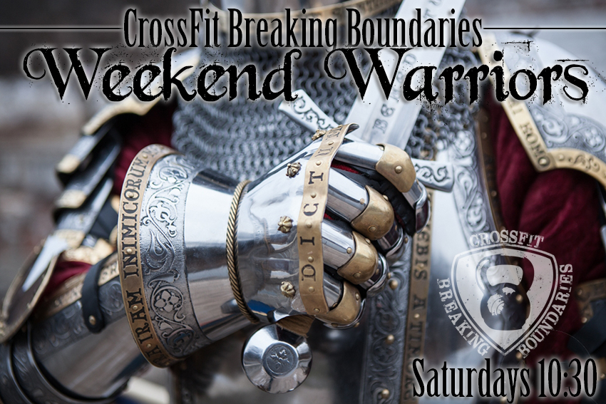 Weekend Warriors 3-29-2014